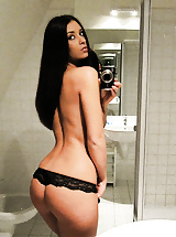 Amazing super hot x girl friends strip and get caught on cam in these hot pics